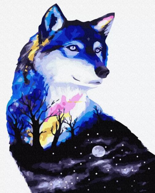 Таємниця вовка (GX32341) Картини за номерами 40×50 див.