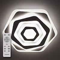 Потолочный светодиодный светильник с пультом ДУ LUMINARIA GEOMETRIA SOTA 80W ST500 WHITE 220V IP20