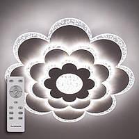 Потолочный светодиодный светильник с пультом ДУ LUMINARIA CAMILLA 75W F500 CLEAR/BULB 220V IP20