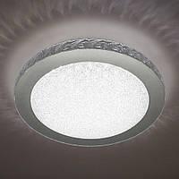 Потолочный светодиодный светильник LUMINARIA SIYANIE 25W R350 CHROME/CRYSTAL IP20 4000K