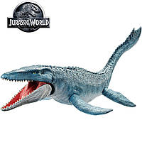 Динозавр Мозазавр, Jurassic World Real Feel Mosasaurus, Mattel FNG24. Оригинал