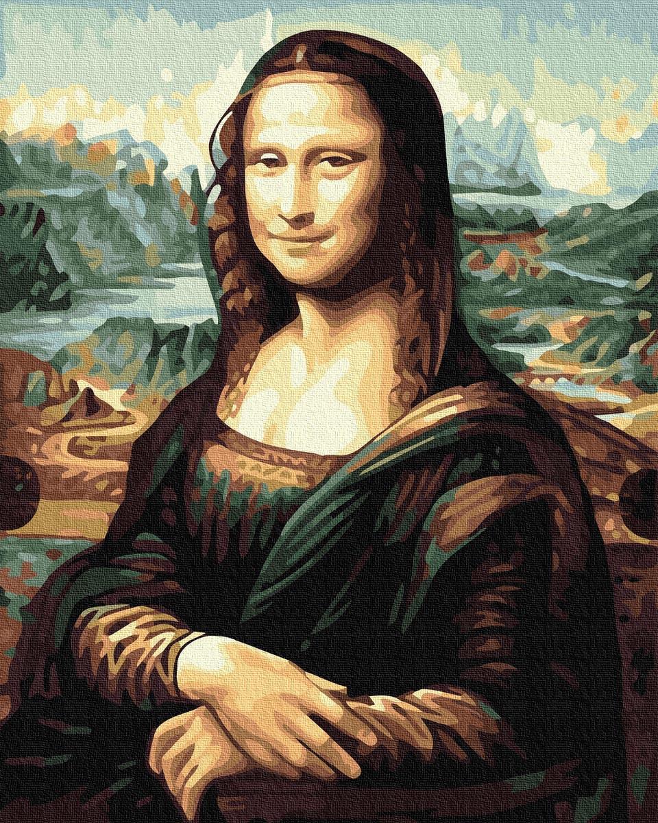 (GX36096) Джаконда, Мона Ліза. Картини за номерами 40×50 див.