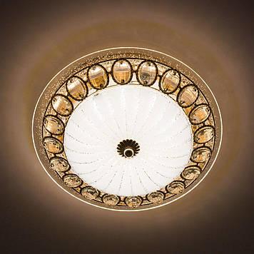 Потолочный светодиодный светильник LUMINARIA CASABLANCA GOLD 25W R300 ON/OFF WHITE 220 IP20