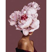 Пион во мне (PGX36692)Картина по номерам на цветном холсте 40×50 см.