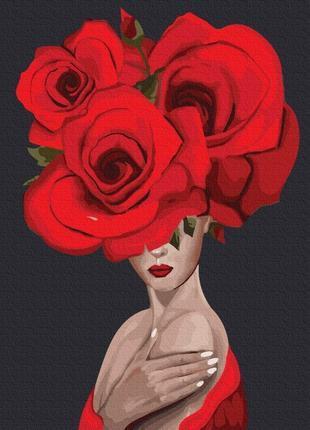Королева троянд (PGX36694)Картина по номерам на кольоровому полотні 40×50 див.