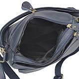 Женская кожаная сумка синяя Riche NM20-W1195BL, фото 6
