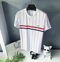 Чоловіча футболка lacoste біла бренд модна чоловічі футболки унісекс XL