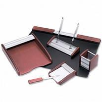 Набір настільний канцелярський дерев'яний 6 предметів Good Sanrise RS6MU-А, 473805