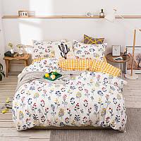 Комплект постільної білизни Wildflowers (двоспальний євро) Berni Home