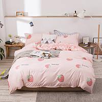 Комплект постельного белья Smile (двуспальный-евро) Berni Home, фото 1