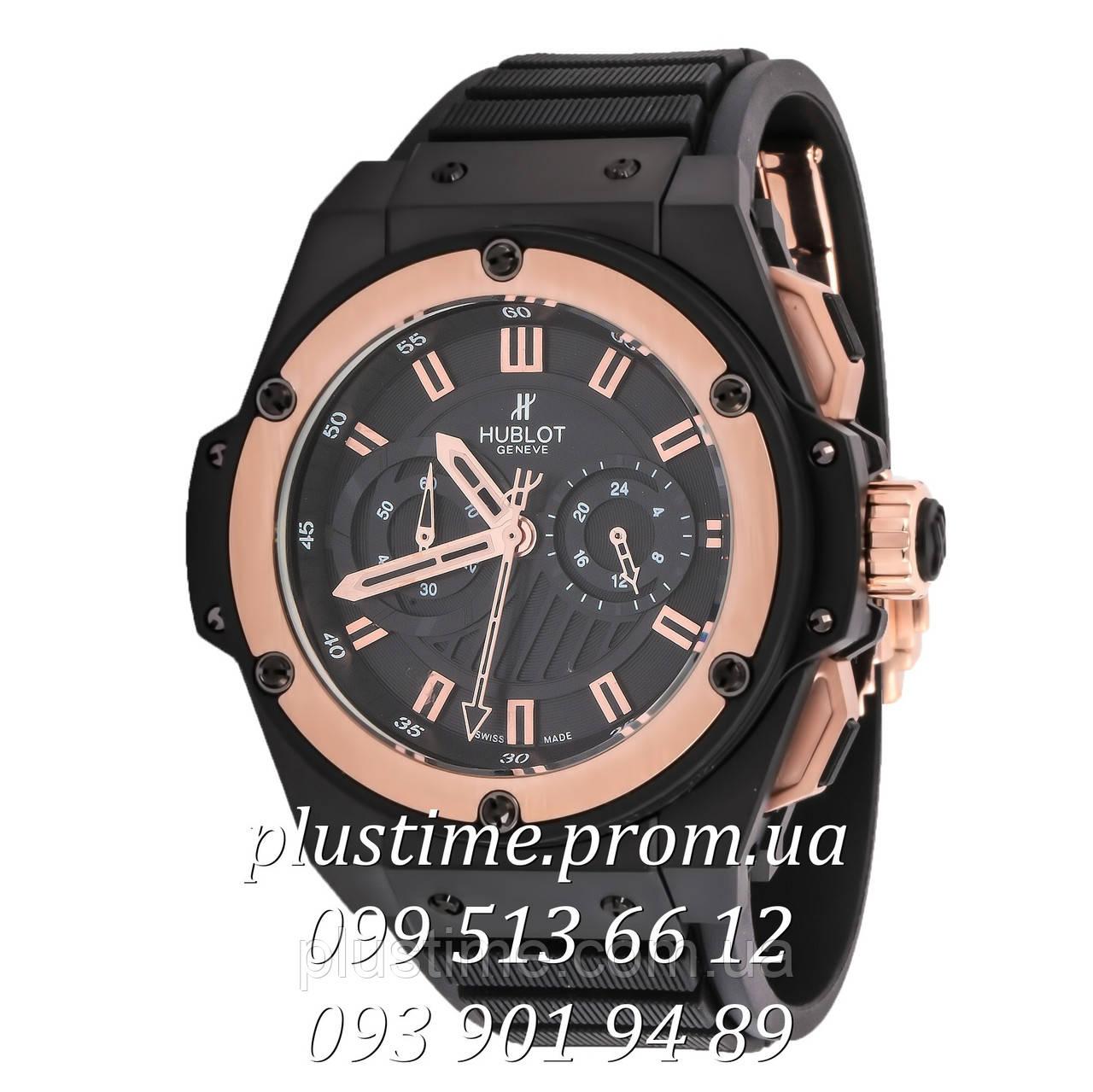 3689b46c28db Hublot Big Bang King Power Foudroyante gold мужские часы хронограф - ЧП  Чайка в Полтаве
