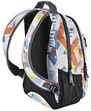 Рюкзак городской Paso 22 л Разноцветный (17-2808UG), фото 4