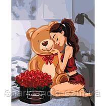 "Картина по номерам.""One million roses"" 40*50см KHO4606"