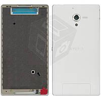 Корпус для Sony Xperia ZL C6502 / C6503 / C6505 L35, оригинал, белый