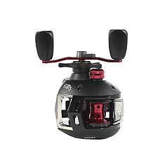 Мультипликаторная котушка Reelsking СD 200 Black-Red Right ультралегкий для лову риби права рука