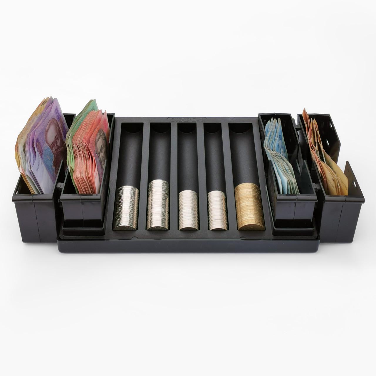 СКАРБ-1+2 (4) органайзер для денег в магазин или автобус