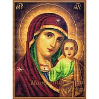537 Набор для вышивания нитками. Казанская Богородица. Матрёнин Посад