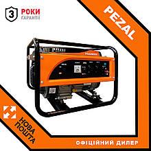 Бензиновий генератор Pezal PGG 2800X 2,5/2,8 кВт 220В
