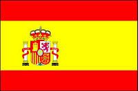 Флаг Испании 14х25 см, шелк