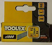 Гвозди для профессионального степлера 2.0*1.2*10мм, фото 1