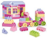 """Конструктор """"Middle Blocks"""" для девочек, 132 элемента, Wader, детские конструкторы,конструктор для мальчиков"""