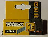 Гвозди для профессионального степлера 2.0*1.2*12мм, фото 1