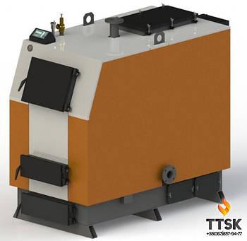 Твердотопливный котел Kotlant КВ-250 с электронной автоматикой и вентилятором
