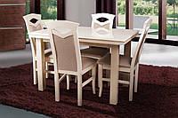 Стол обеденный Европа слоновая кость (Микс-Мебель ТМ)