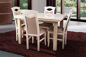 Стол обеденный Европа венге шоколад (Микс-Мебель ТМ), фото 2