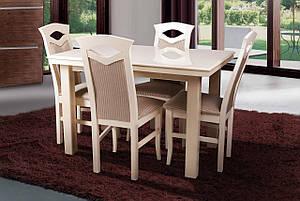 Стол обеденный Европа слоновая кость (Микс-Мебель ТМ), фото 2