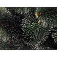 Классическая новогодняя искусственная Сосна 75см Белые кончики 0,75м заснеженная, фото 2