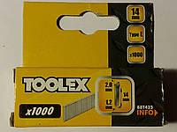 Гвозди для профессионального степлера 2.0*1.2*14мм, фото 1