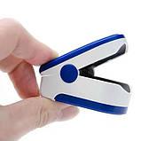 Пульсоксиметр Fingertip CMS50D Цветной OLED дисплей Синий (tdx0001083), фото 3