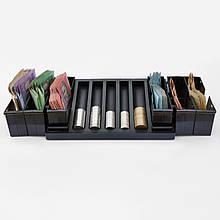 СКАРБ-1+2 (6) органайзер для денег в магазин или автобус