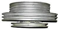 Шкив двойной  вала отбойного битера РСМ-10.14.00.170/510 Дон-1500 ст. обр. \3+2+1\  (алюминиевый)