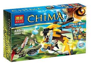 Конструктор 10053 bela - chima чима финальный поединок 240 детали аналог лего легенды чимы lego 70115, фото 2