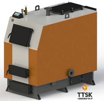 Твердотопливный котел Kotlant КВ-150 с электронной автоматикой и вентилятором