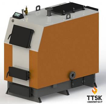 """Твердотопливный котел Kotlant КВ-125  с электронной автоматикой """"TECH"""" и функцией zPID"""
