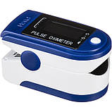 Пульсоксиметр CONTEC CMS50D Pulse Oximeter Синий (окси50д), фото 2