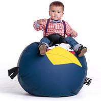Детский пуфик кресло в виде синей птахи AngryBirds, фото 1