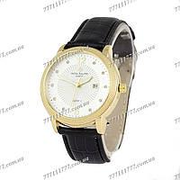Часы женские наручные Patek Philippe quartz 8610-1 Black/Gold/White