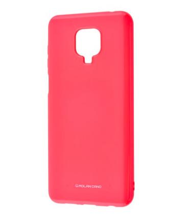 Силиконовый чехол MOLAN CANO Glossy Jelly Case для Xiaomi Redmi Note 9 marsala, фото 2