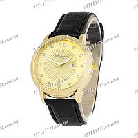 Часы женские наручные Patek Philippe quartz 8610-1 Black/Gold/Gold
