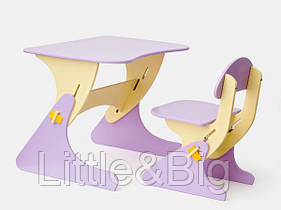 Детский стул и стол от года