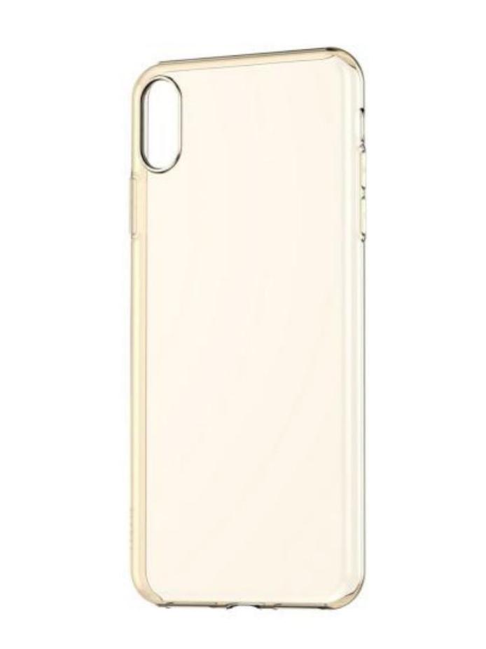 Чехол BASEUS Simplicity Series (basic model) For iPhone XS Transparent Gold