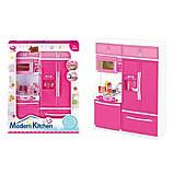 Игровой набор Modern Kitchen кухня со звуком и светом Pink (QF26215PW), фото 3