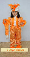 Детский маскарадный костюм Лисички на 2-4 года