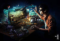 Фотообои для геймерской комнаты, Gamer, 368x254