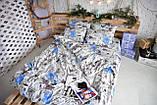 Комплект постельного белья Brettani 2-х Спальный 180 х 220 см (10021), фото 2