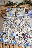 Комплект постельного белья Brettani 2-х Спальный 180 х 220 см (10021), фото 4